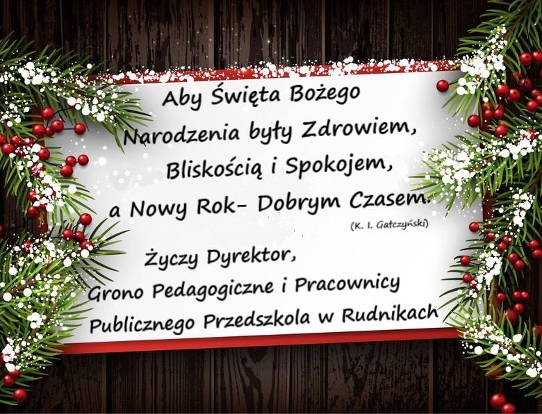 Kartka Boże Narodzenie 2020