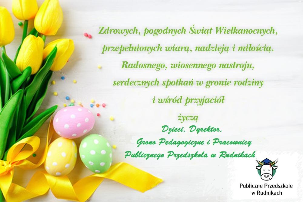 Wielkanocne życzenia 2021